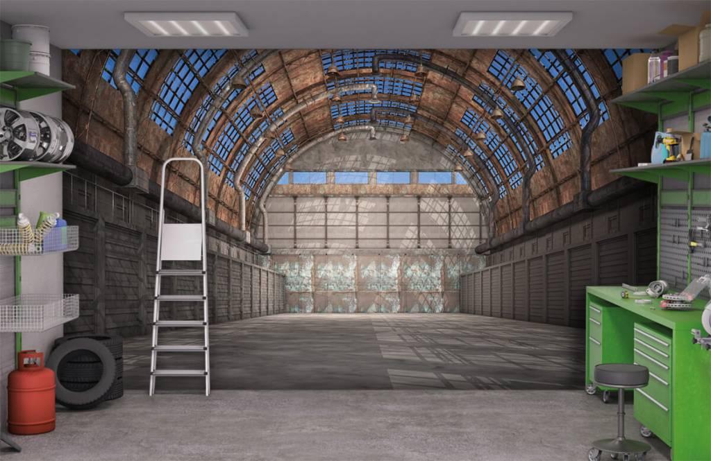 Bâtiments - Hall d'usine vintage - Entrepôt 1