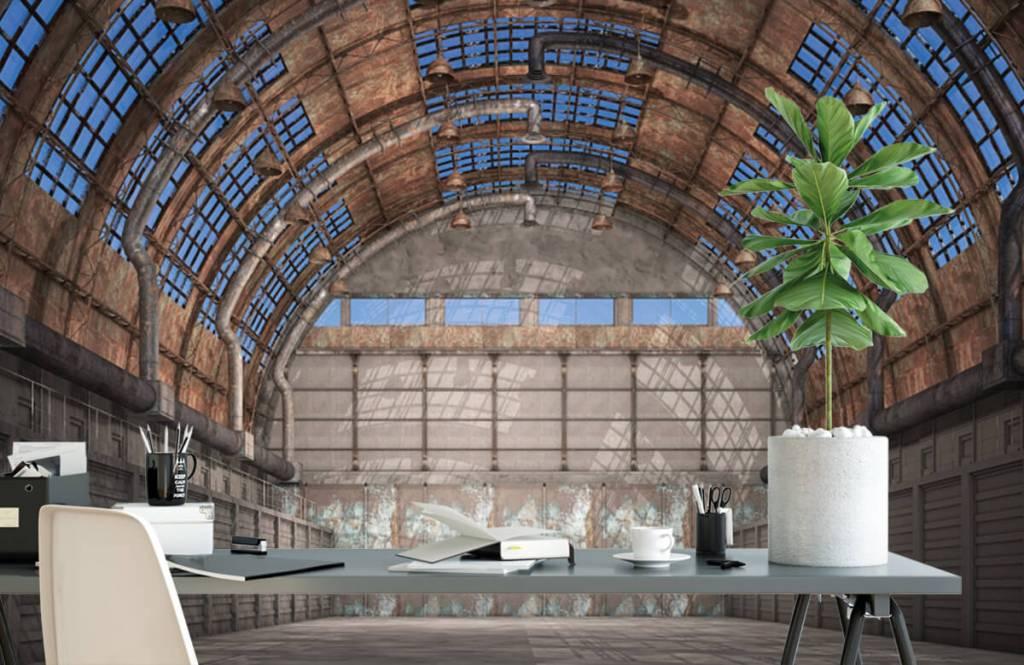 Bâtiments - Hall d'usine vintage - Entrepôt 2