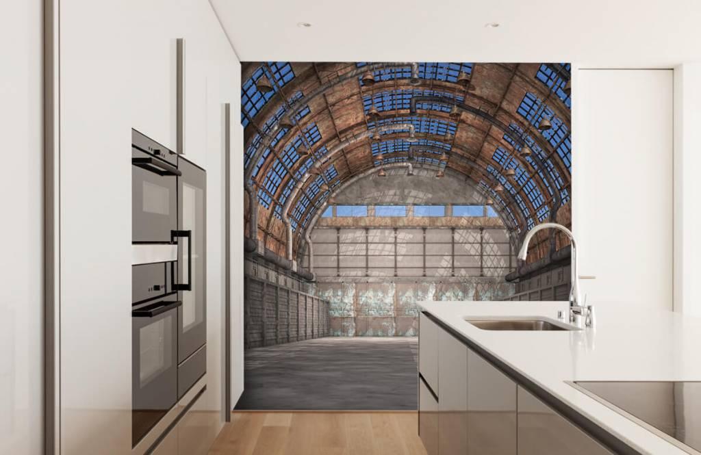 Bâtiments - Hall d'usine vintage - Entrepôt 5