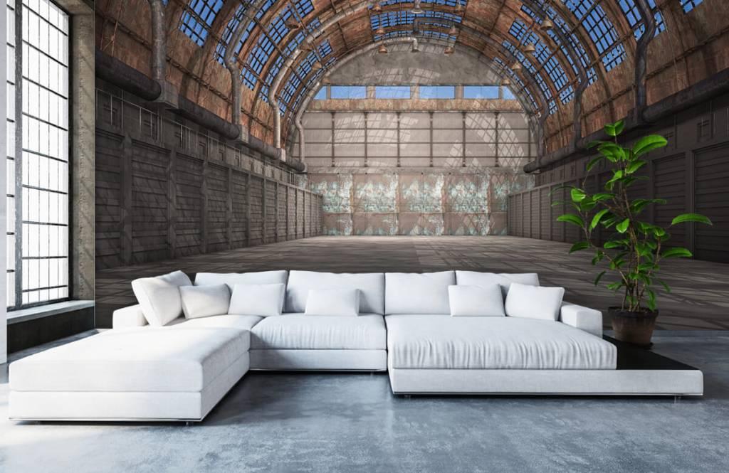 Bâtiments - Hall d'usine vintage - Entrepôt 6