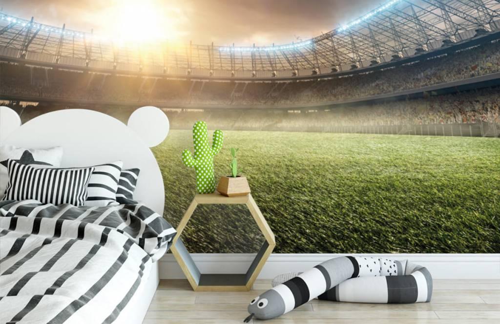 Stades - Stade de football - Chambre d'enfants 1