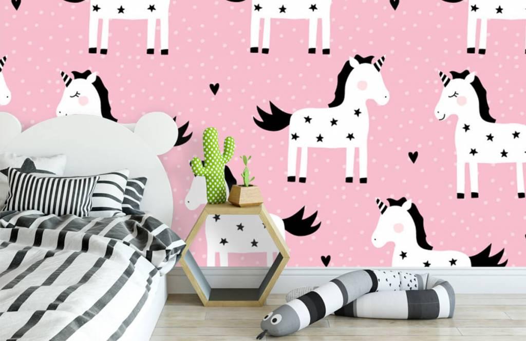 Chevaux - Motif licorne - Chambre d'enfants 2