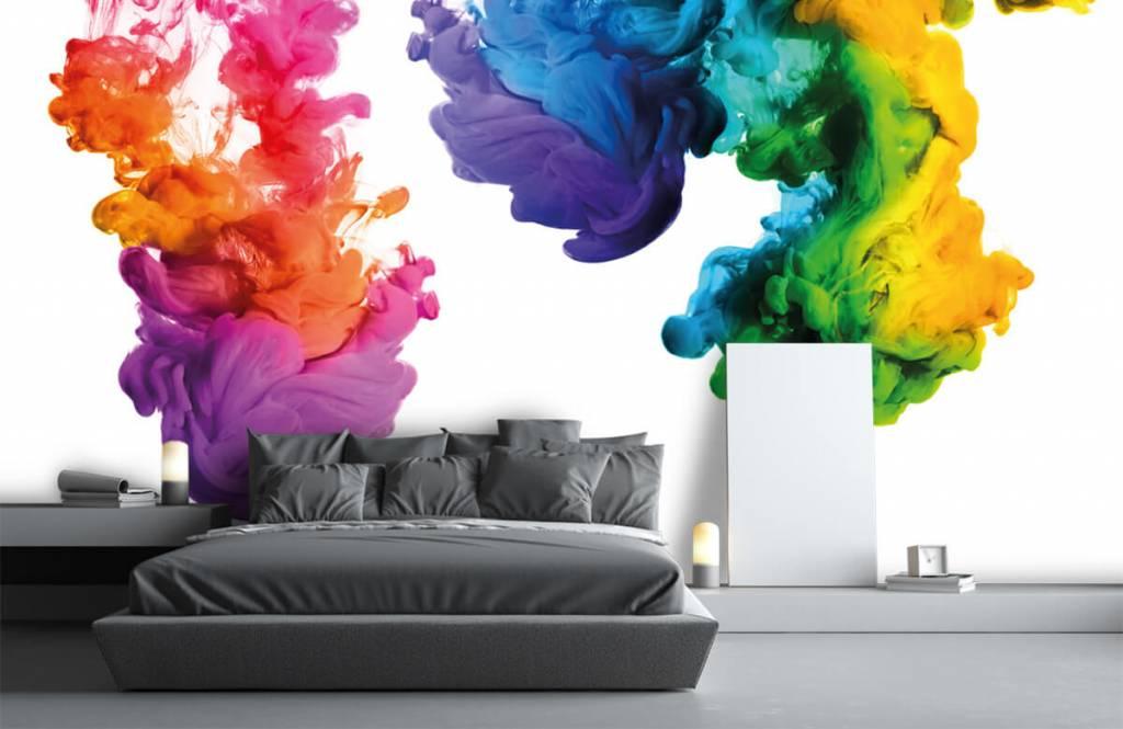 Abstrait - Fumée colorée - Salle de Loisirs 3