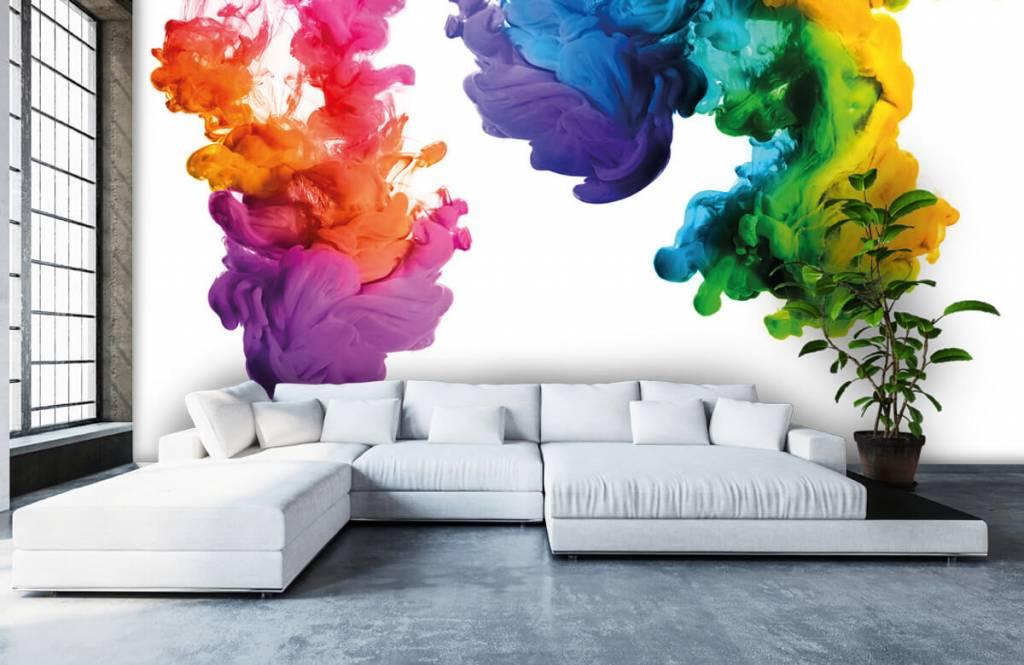 Abstrait - Fumée colorée - Salle de Loisirs 6