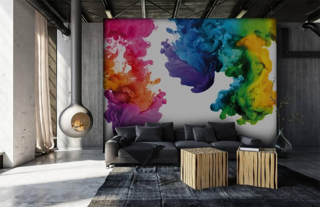 Abstrait - Fumée colorée - Salle de Loisirs 7