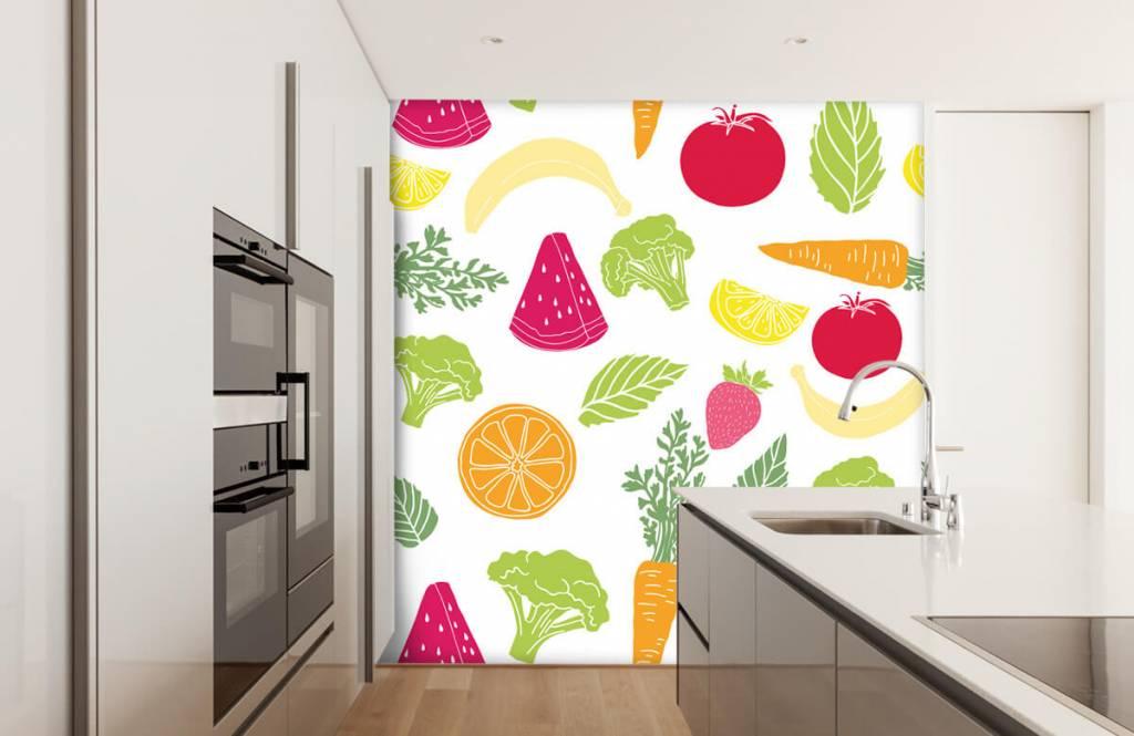 Autre - Dessins fruit et légumes - Cuisine 1