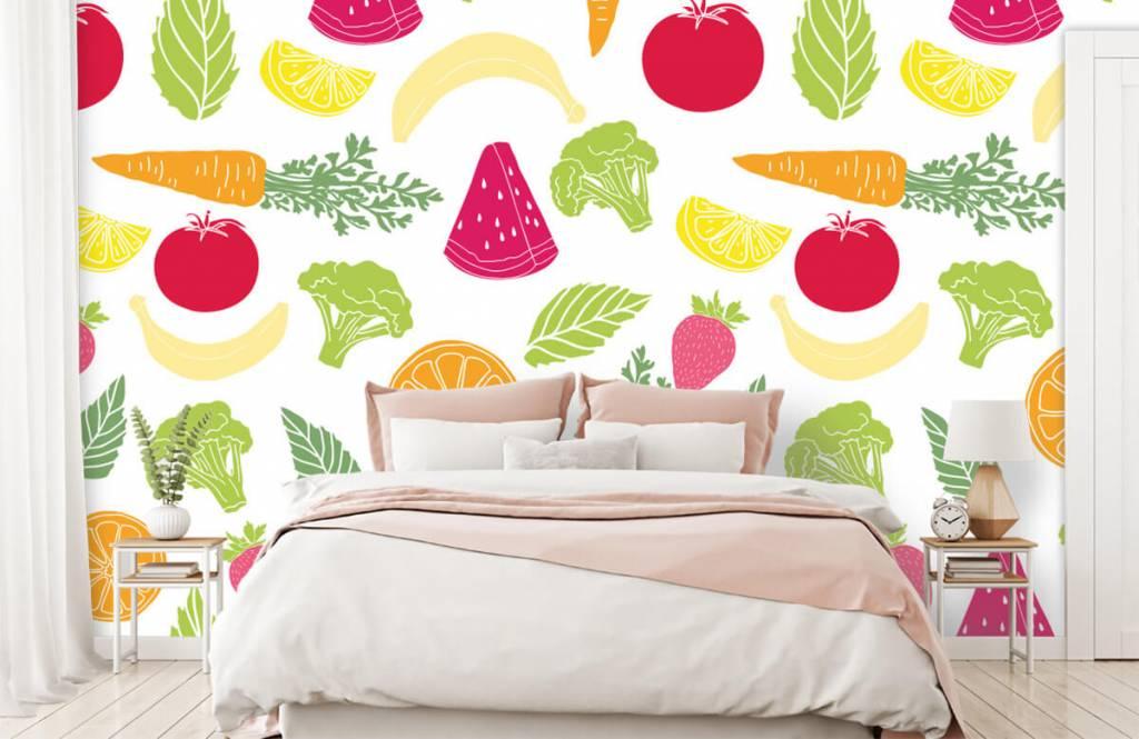 Autre - Dessins fruit et légumes - Cuisine 2