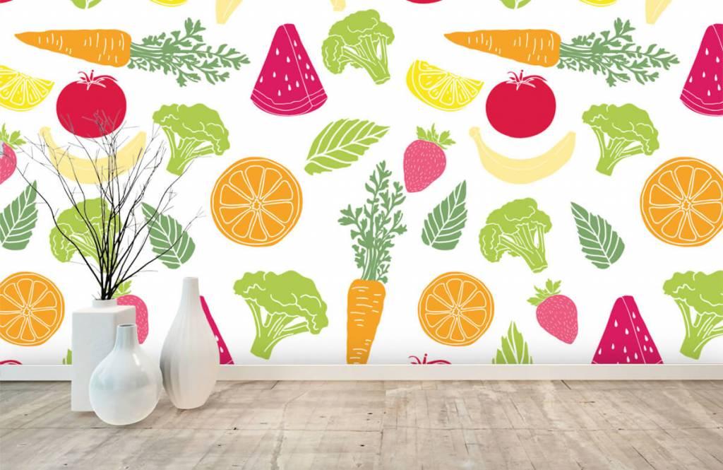 Autre - Dessins fruit et légumes - Cuisine 6