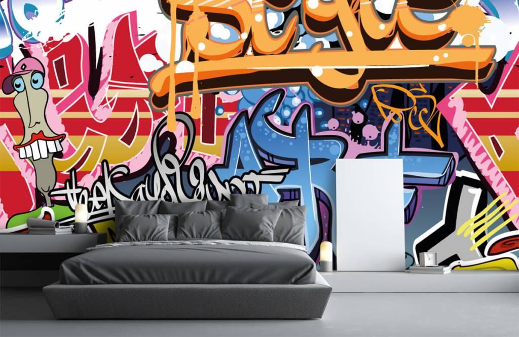 Graffiti - Texte graffiti - Chambre d'adolescent 1