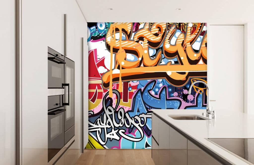Graffiti - Texte graffiti - Chambre d'adolescent 3