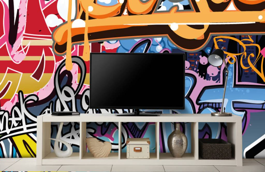 Graffiti - Texte graffiti - Chambre d'adolescent 4