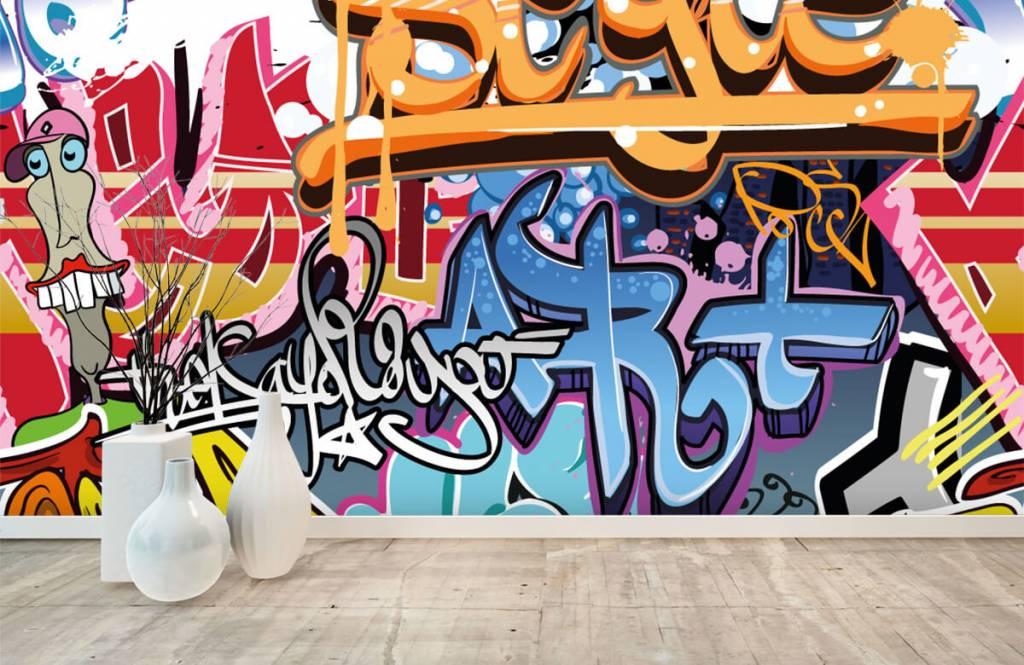 Graffiti - Texte graffiti - Chambre d'adolescent 8