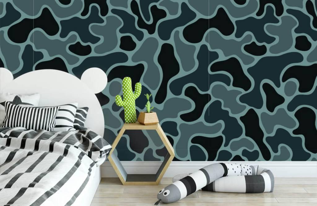 Autre - Camouflage vert gris - Chambre d'enfants 3