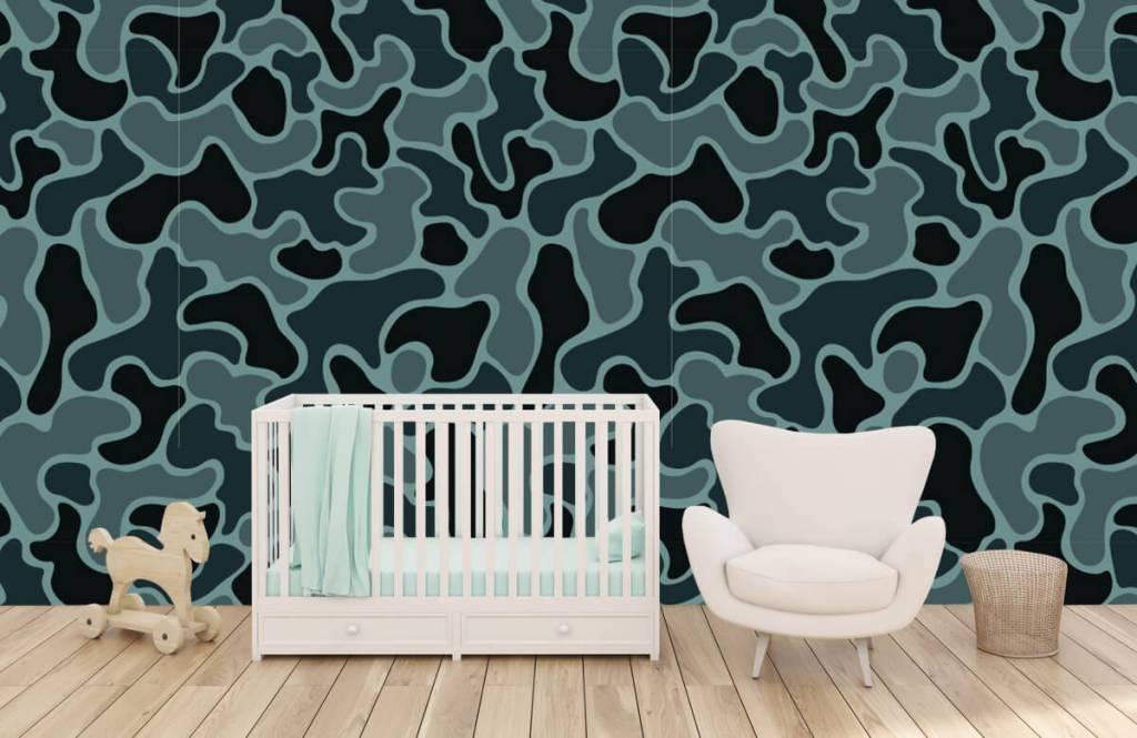 Autre - Camouflage vert gris - Chambre d'enfants 4