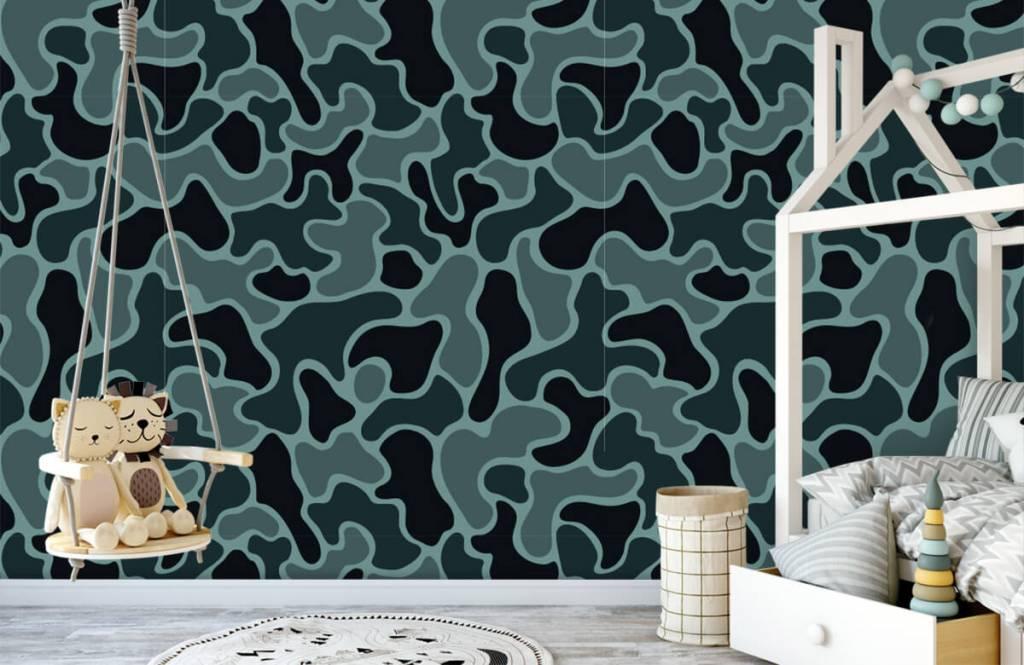 Autre - Camouflage vert gris - Chambre d'enfants 5