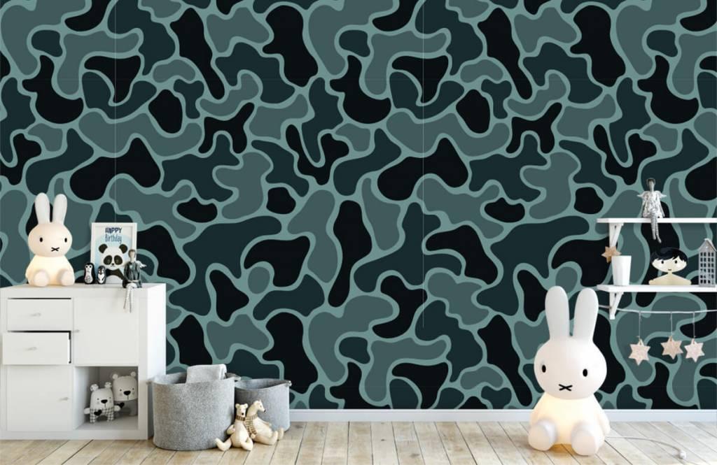 Autre - Camouflage vert gris - Chambre d'enfants 6