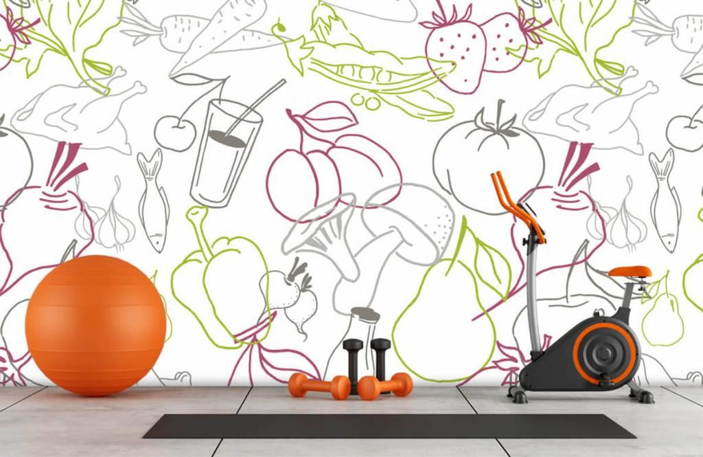 Other - Icône de fruits et légumes - Cuisine 8