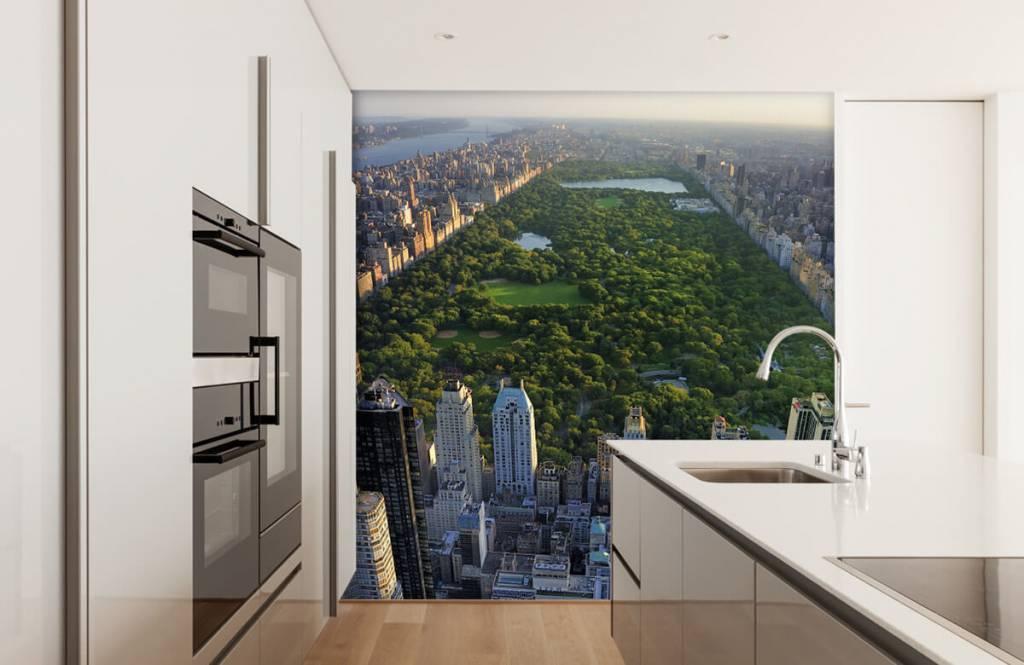 Papier peint Villes - Central Park - Chambre à coucher 2