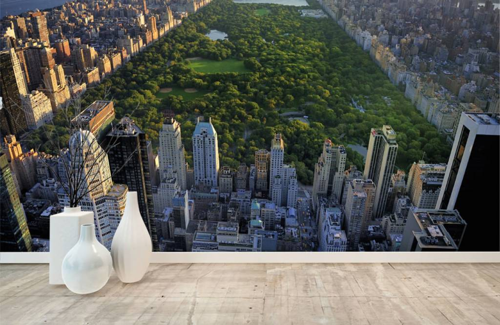 Papier peint Villes - Central Park - Chambre à coucher 3