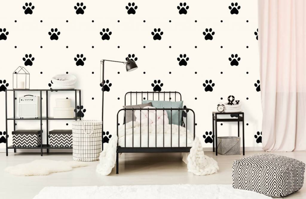 Autre - Pattes de chien - Chambre d'enfants 2