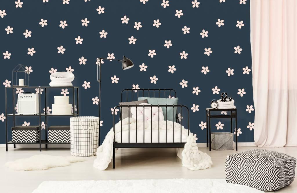 Motifs chambre d'enfants - Petites fleurs roses - Chambre d'enfants 2