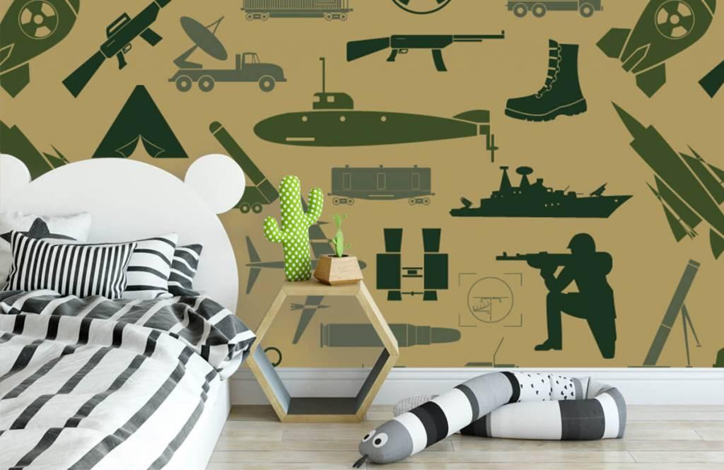 Autre - Illustrations militaires - Chambre d'enfants 2