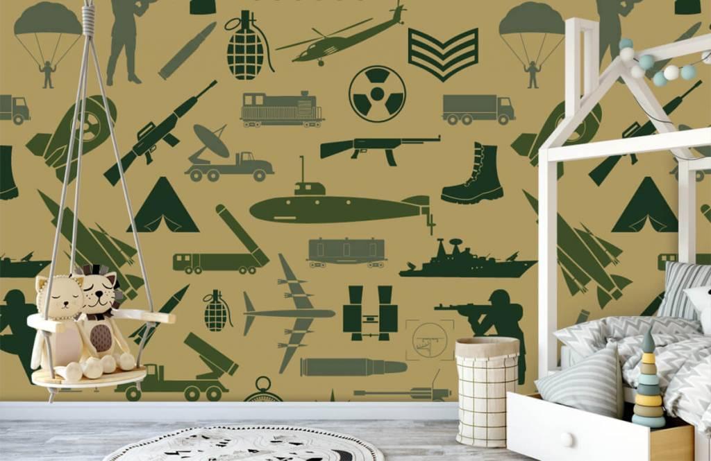 Autre - Illustrations militaires - Chambre d'enfants 3