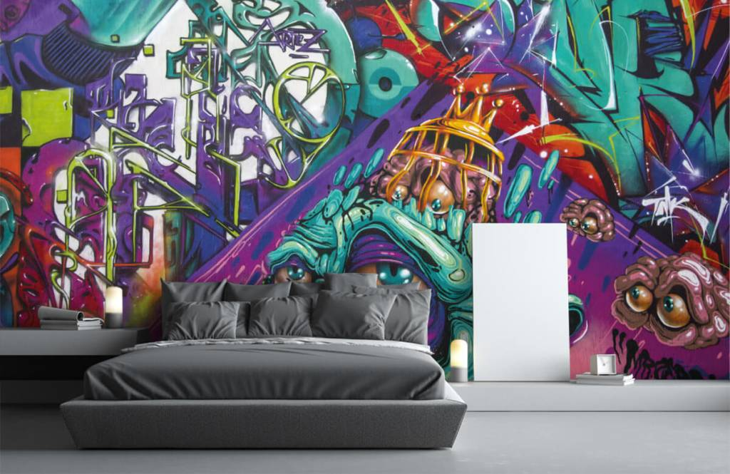 Graffiti - Le graffiti moderne - Chambre d'adolescent 1