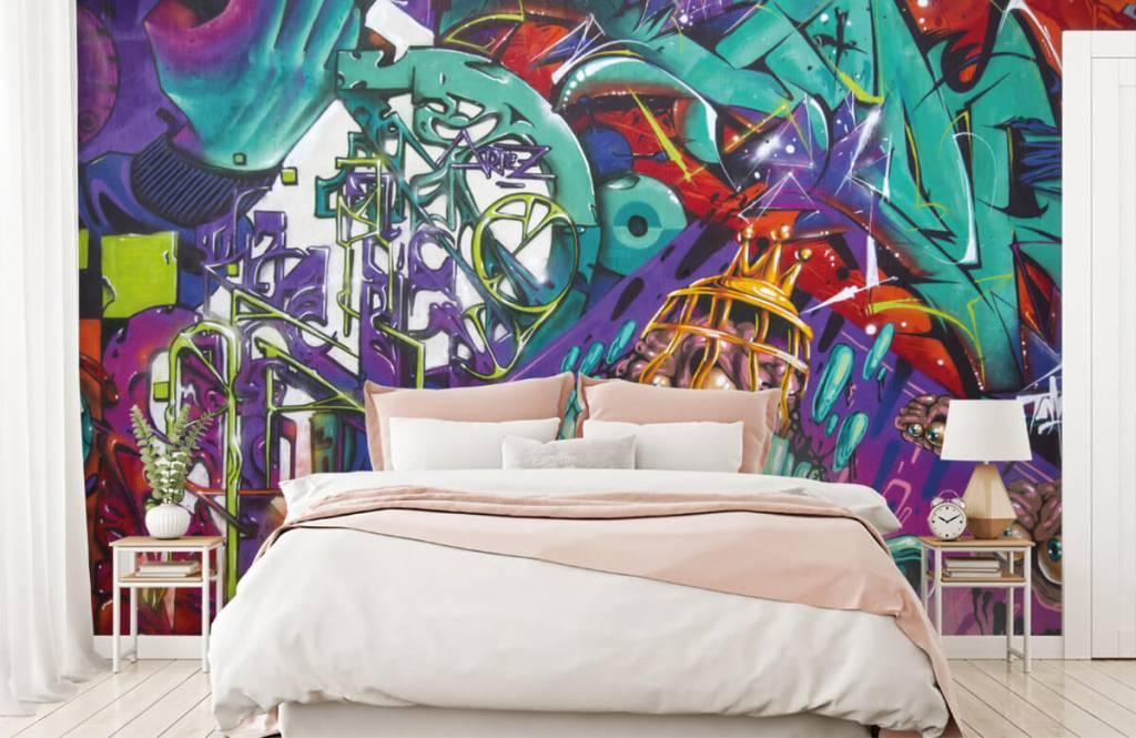 Graffiti - Le graffiti moderne - Chambre d'adolescent 2