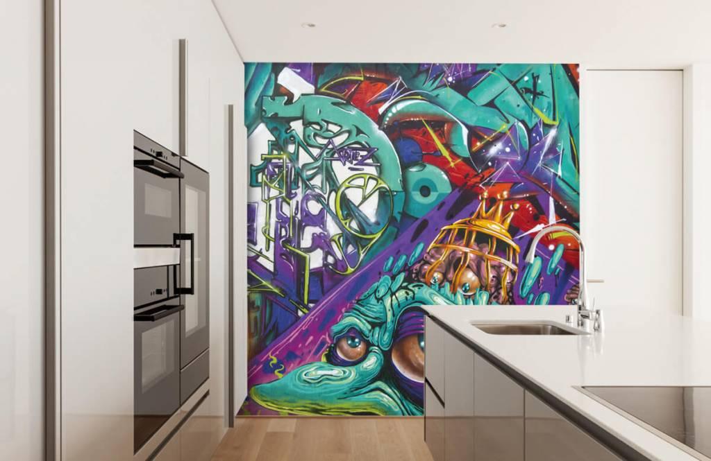 Graffiti - Le graffiti moderne - Chambre d'adolescent 3
