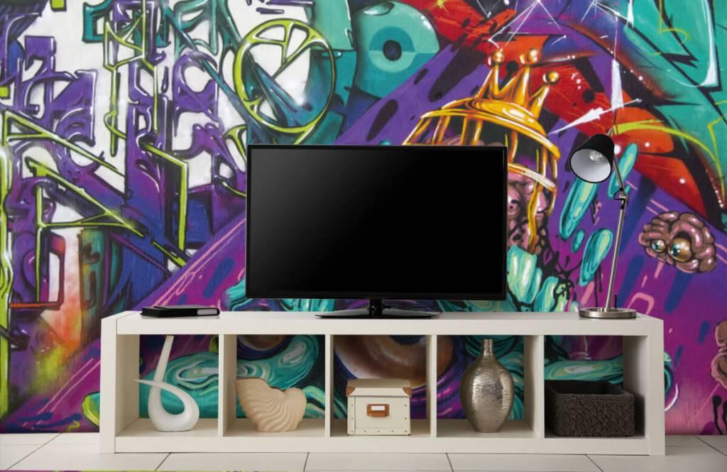 Graffiti - Le graffiti moderne - Chambre d'adolescent 4
