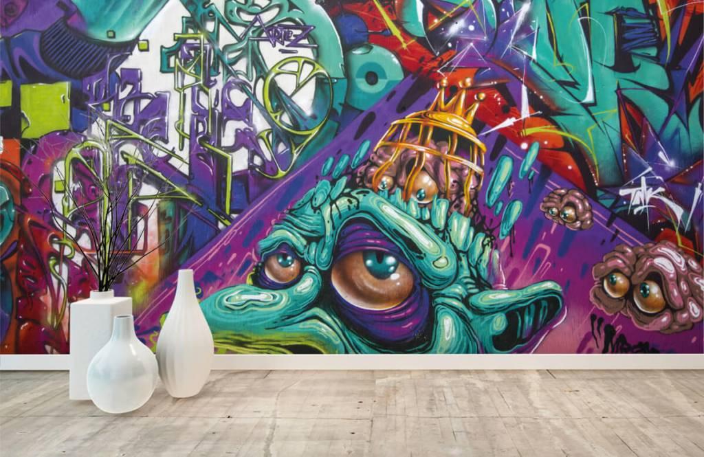 Graffiti - Le graffiti moderne - Chambre d'adolescent 5