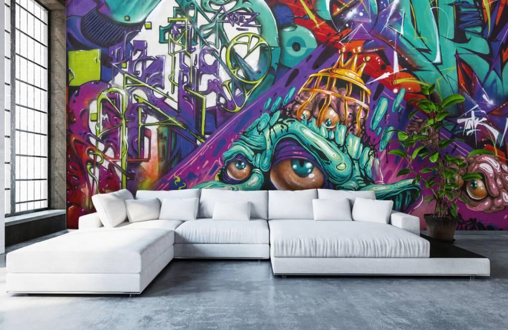 Graffiti - Le graffiti moderne - Chambre d'adolescent 6