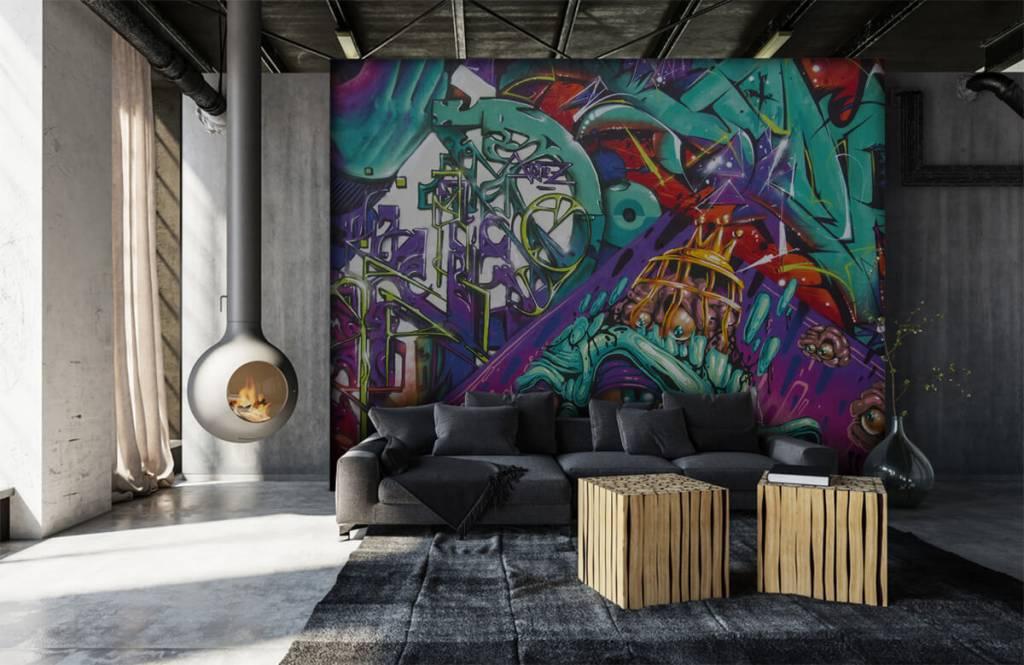 Graffiti - Le graffiti moderne - Chambre d'adolescent 7