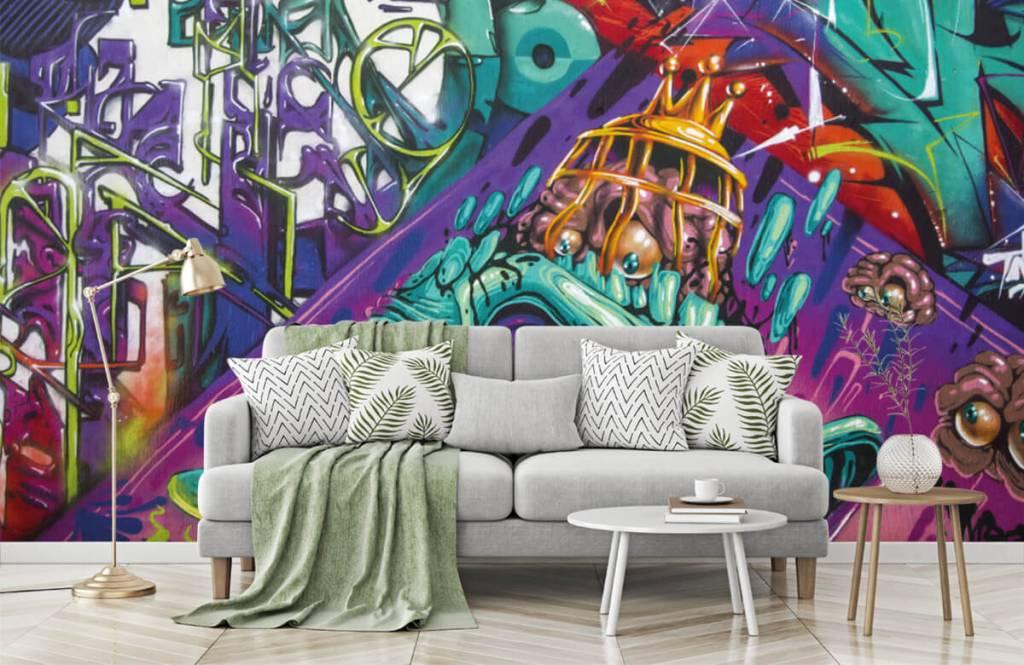 Graffiti - Le graffiti moderne - Chambre d'adolescent 8