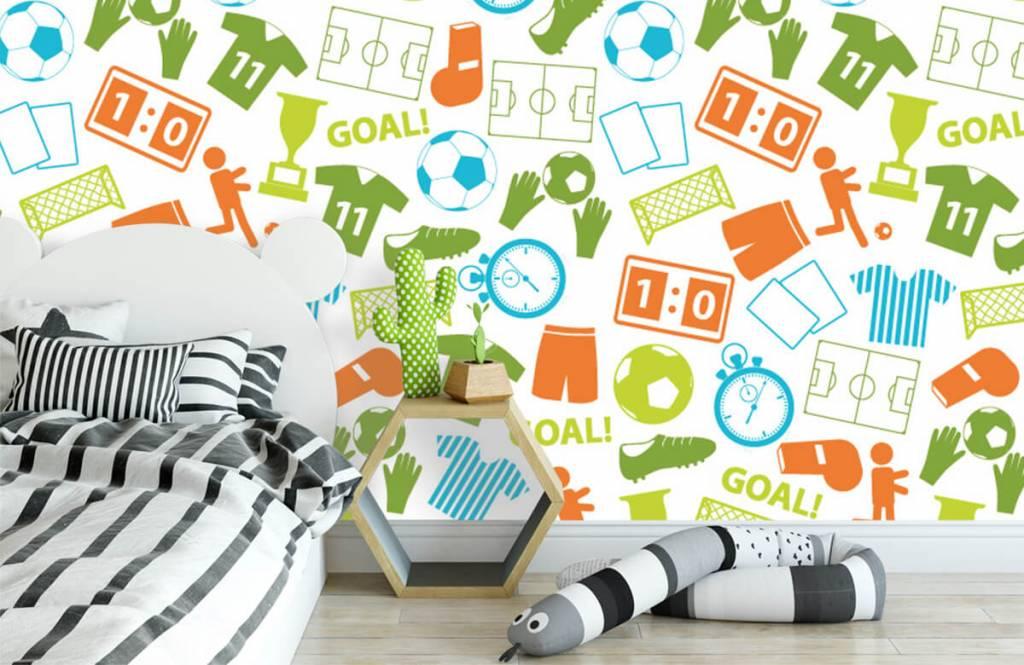 Motifs - Illustrations sportives - Chambre d'enfants 2