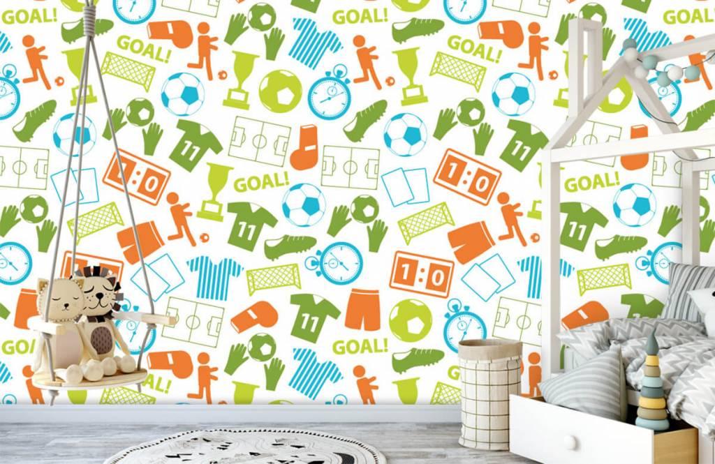 Motifs - Illustrations sportives - Chambre d'enfants 3