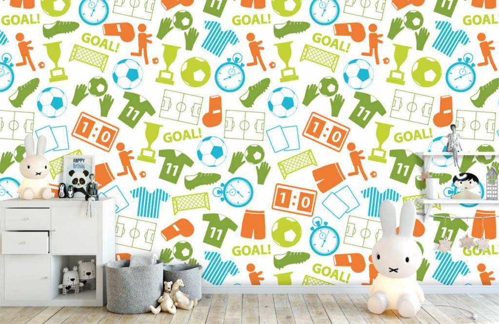 Motifs - Illustrations sportives - Chambre d'enfants 4