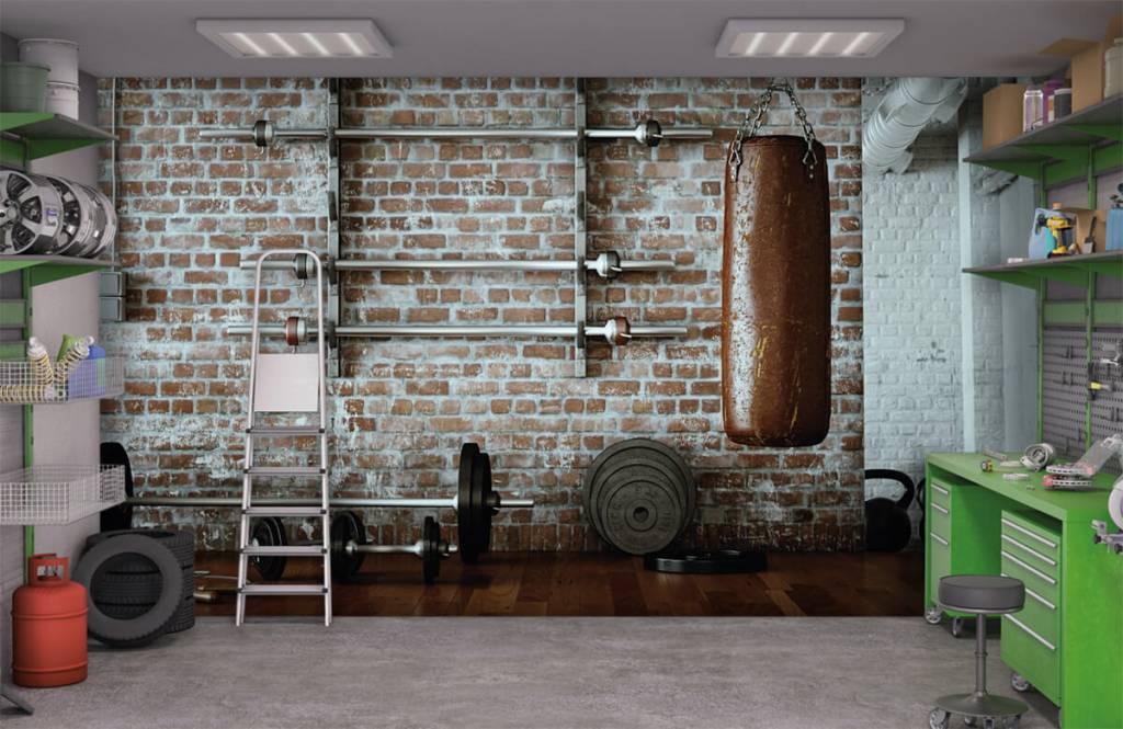 Fitness - Articles de gym vintage - Salle de Loisirs 1