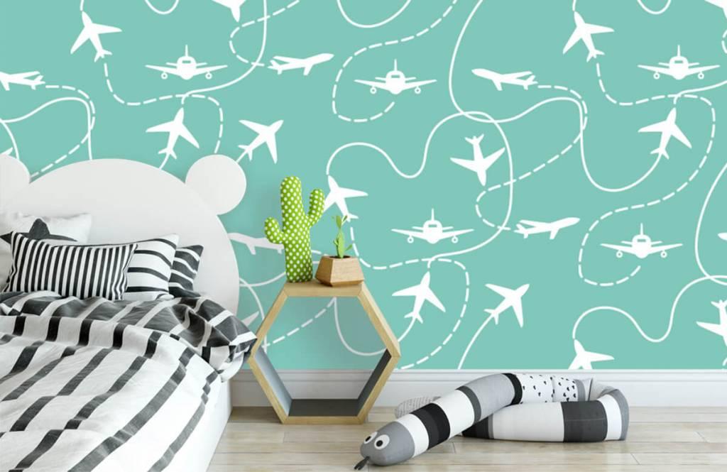 Autre - Aéronefs et lignes - Chambre d'enfants 3