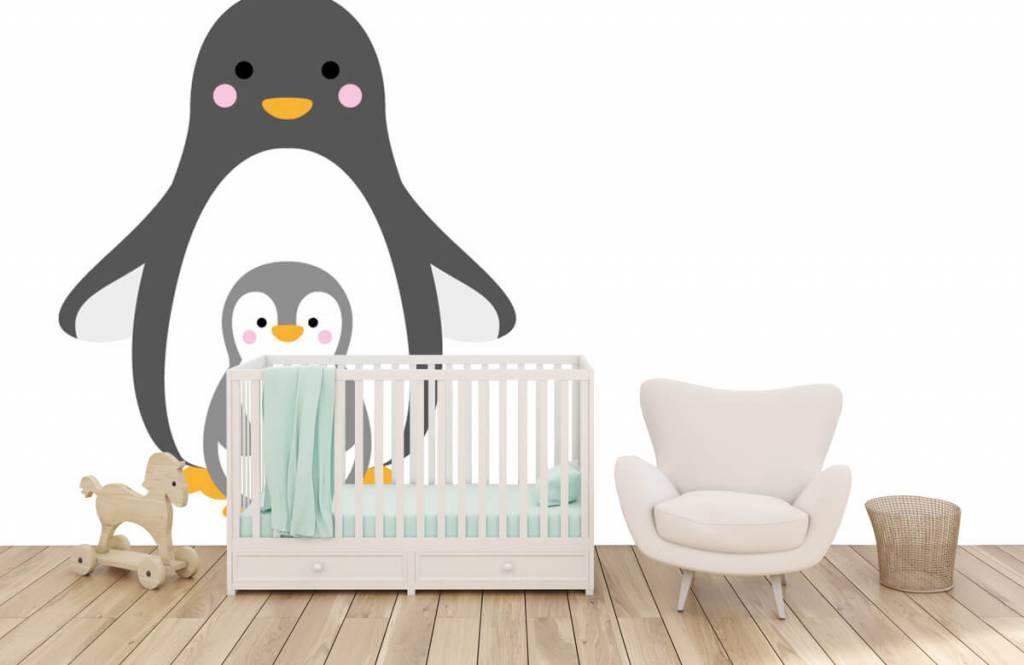 Autre - Pingouins joyeux - Chambre d'enfants 1