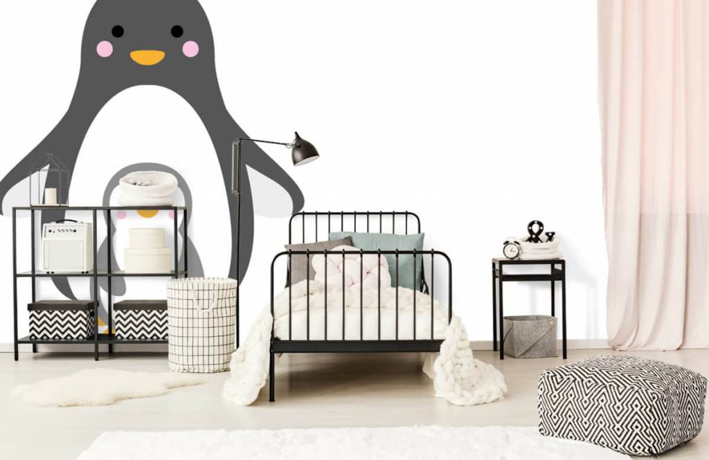 Autre - Pingouins joyeux - Chambre d'enfants 2