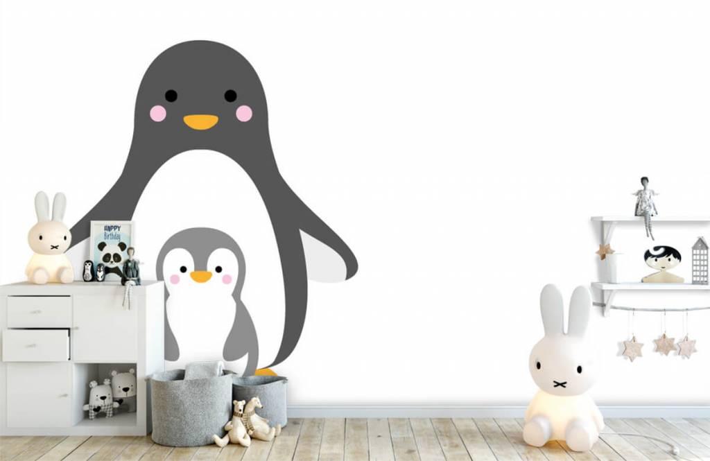 Autre - Pingouins joyeux - Chambre d'enfants 5