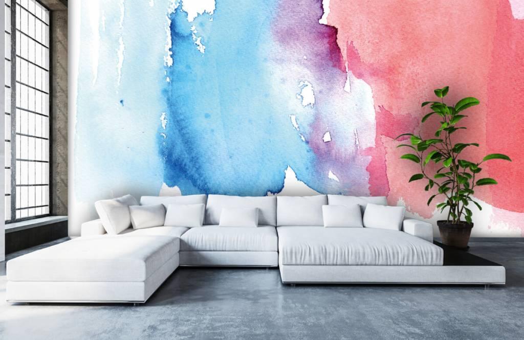 Abstrait - Aquarelle - Hall d'entrée 6