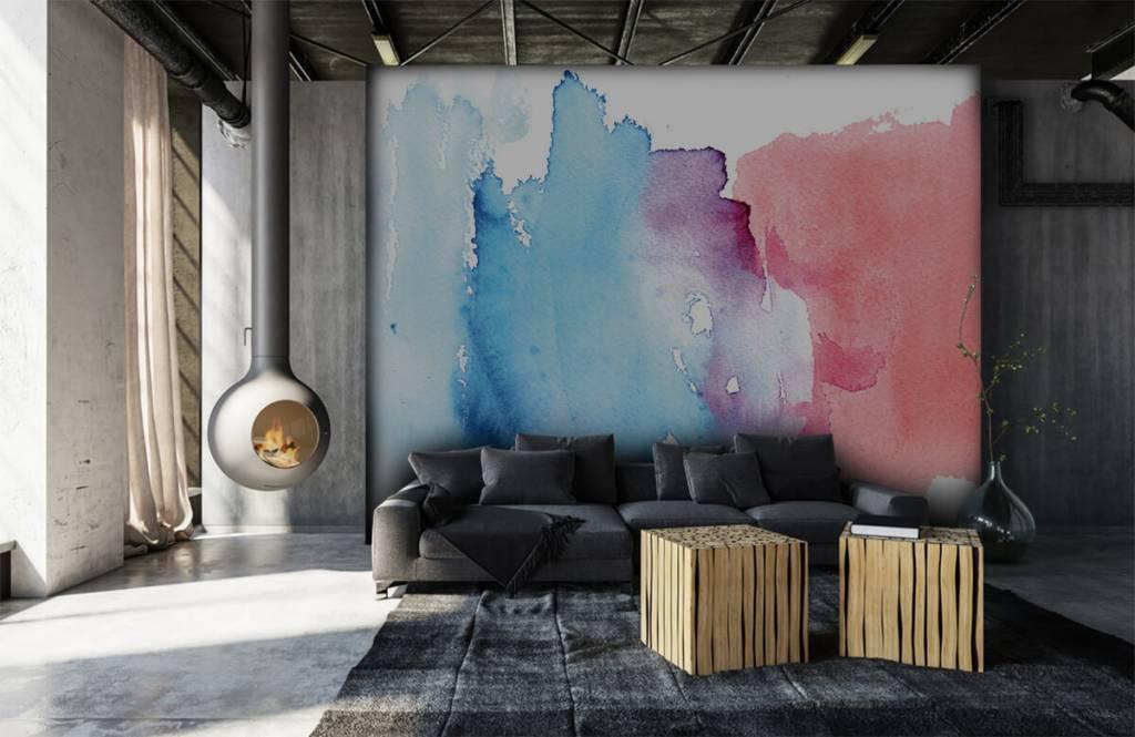 Abstrait - Aquarelle - Hall d'entrée 7