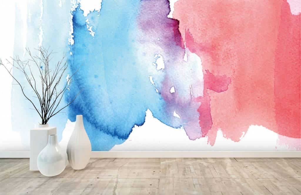 Abstrait - Aquarelle - Hall d'entrée 8