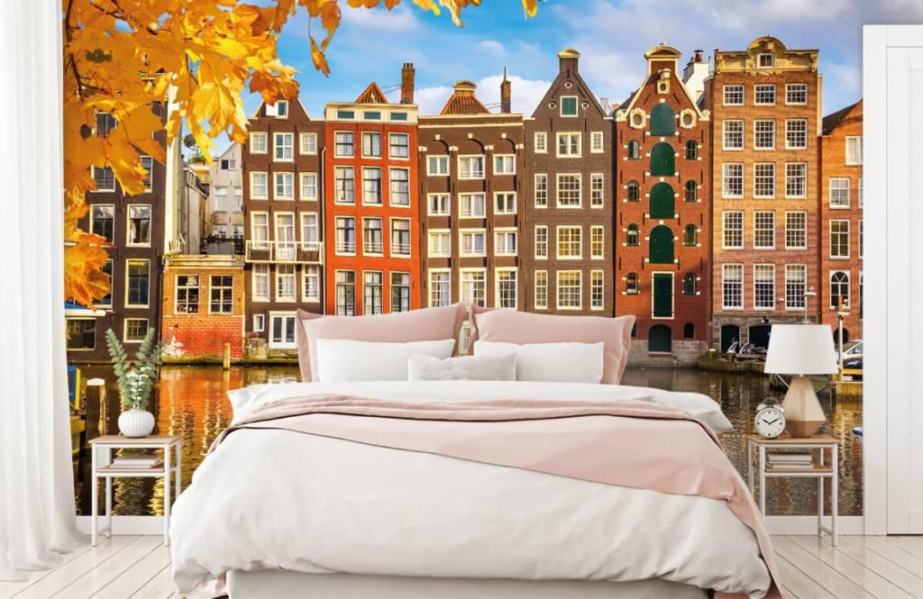 Papier peint Villes - Amsterdam - Chambre à coucher 1