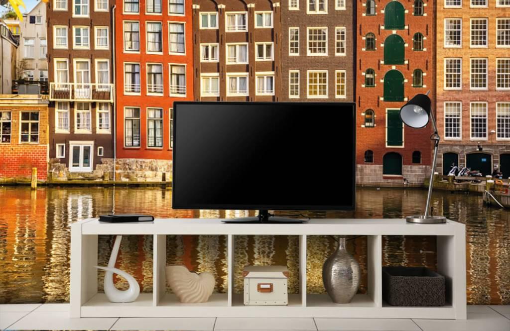 Papier peint Villes - Amsterdam - Chambre à coucher 4