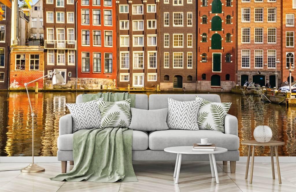 Papier peint Villes - Amsterdam - Chambre à coucher 7