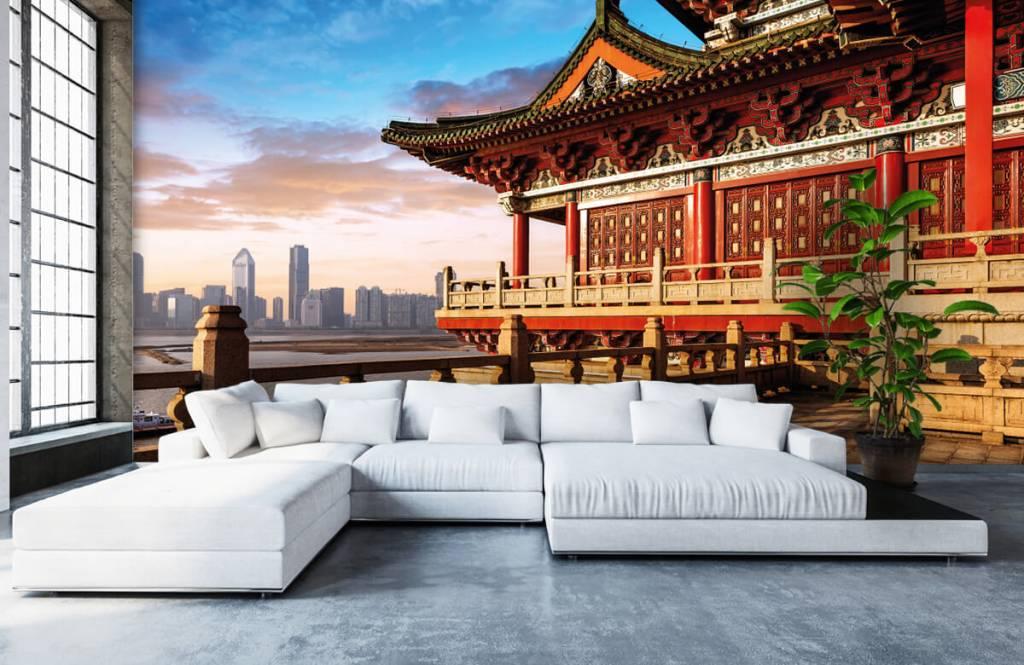 Papier peint Villes - Chine - Chambre à coucher 6